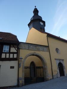 Hospital donado por santa Isabel de Hungría, en Eisenach