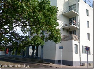Konsumgebäude, Edificio de consumo de Walter Gropius. Dessau