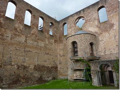 Parte posterior de Stiftsruine, Bad Hersfeld