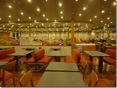 Restaurante Italia en Barco Splendid de GNV