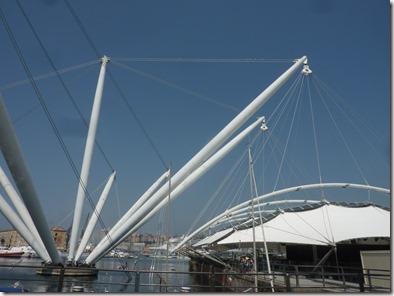 El bigo de Renzo Piano en Génova
