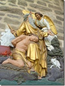Escultura de Abraham