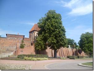 Muro de la ciudad. Stadtmauer Tangermunde