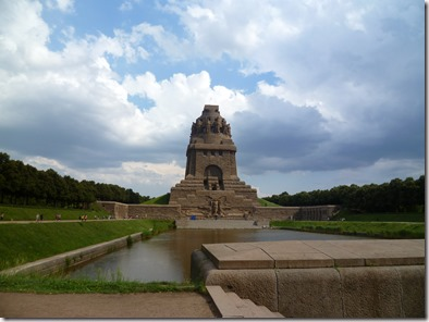 Monumento a la batalla de naciones. Voelkerschlachtdenkmal Leipzig