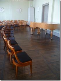 Auditorio en la casa de Mendelssohn