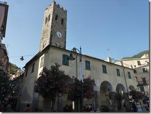 El campanario de Monterosso. Cinque Terre.