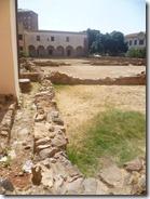 Ruinas del claustro franciscano